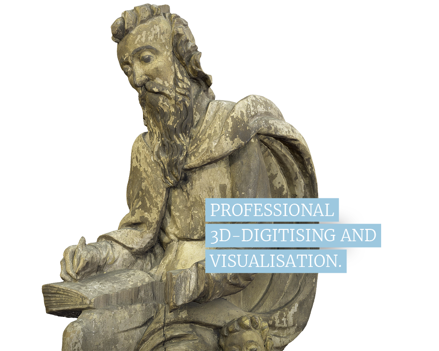 digitus art / germany – professional 3d digitising and high end visualisation